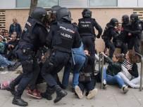 PLASTİK MERMİ - İspanya'da Yaralı Sayısı 844'E Yükseldi