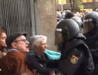 YAŞLI ÇİFT - İspanya'dan Katalonya'ya 10 bin takviye güvenlik gücü