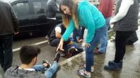 UZUNTARLA - Kocaeli'de Zincirleme Trafik Kazası Açıklaması 4 Yaralı