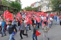 Kocaköy'de Teröre Lanet Yürüyüşü