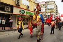 TOLGA ÇANDAR - Yörükler Geleneklerini Sokakta Yaşattı