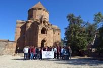 AKDAMAR ADASı - Ahlatlı Öğrenciler, Van'daki Tarihi Ve Kültürel Mekanları Gezdi