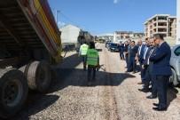 ALANYURT - Alanyurt'ta Asfalt Çalışmaları Sürüyor