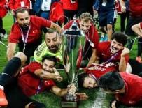 Avrupa Şampiyonlarına özel ödül