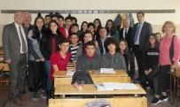 ÇANKAYA BELEDIYESI - Başkan Taşdelen Okul Ziyaretlerini Sürdürüyor