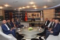 BEYKÖY - Başkanlardan Yeni Başkana Ziyaret