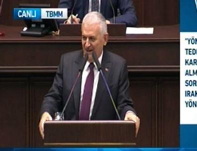 Başbakan Yıldırım o sözü söyleyemedi bombayı patlattı