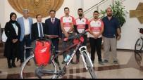 ÖMER ÇELİK - Bisiklet Topluluğu'ndan Avrupa'ya Bisiklet Turu