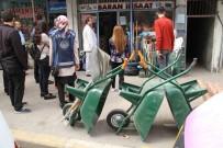 ZABITA MÜDÜRÜ - Bismil'de Kaldırım İşgali Denetimi Yapıldı