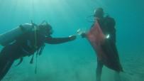BODRUM BELEDİYESİ - Bodrum Yarımadası Deniz Dibi Temizliği Çalışmaları Başladı