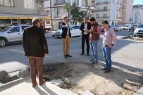 GAZI MUSTAFA KEMAL - Çerkezköy'de Cadde Ve Sokaklarda Çalışmalar Sürüyor