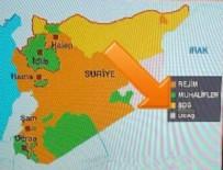 PYD - CNN Türk'ten skandal harita