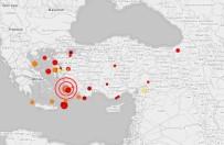 KANDILLI RASATHANESI - Gökova Körfezi'nde 4.1  Büyüklüğünde Deprem