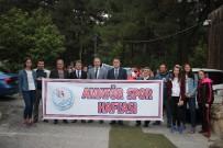 SAYGI DURUŞU - Karabük'te Amatör Spor Haftası