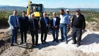 ERSOY ARSLAN - Kırkağaç'ta Altyapı Çalışmaları Başladı