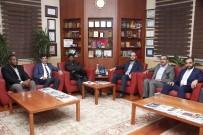 AFRİKALI - MÜSİAD Konya Şubesi Nijer Büyükelçisini Ağırladı