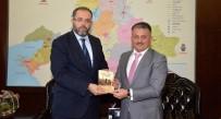 ERSIN YAZıCı - Prof. Dr. Erhan Afyoncu, Vali Yazıcı'yı Ziyaret Etti
