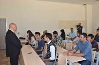 DEVAMSIZLIK - Rektör Gönüllü Tarım Bilimleri Ve Teknolojileri Öğrencilerine Ders Verdi