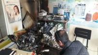 Şarj Cihazından Çıkan Yangın Ucuz Atlatıldı
