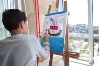 AHMET HAŞIM BALTACı - Savaş Mağduru Suriyeli Çocuklar Hayallerini Resmetti