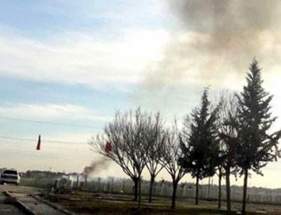 Telabyad'dan taciz ateşi açıldı