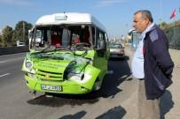 MİNİBÜS ŞOFÖRÜ - Yalova'da Zincirleme Kaza Açıklaması 4 Yaralı