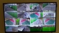ERKILET - Amatörde Tribün Olaylarına Karşı 360 Derece Dönen 4 Kamera İle Takip