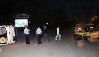 YEŞILTEPE - Ambulans İle Ticari Taksi Çarpıştı Açıklaması 5 Yaralı