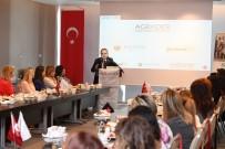AİLE DANIŞMA MERKEZİ - Başkan Böcek, İş Kadınlarına Projelerini Anlattı