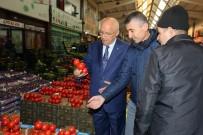 MEHMET KARTAL - Başkan Yaşar Hal Esnafıyla Buluştu
