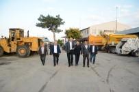 ALI ÖZKAN - Belediyeye Yeni Kademe Binası