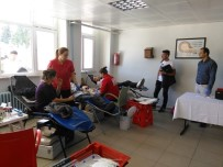 KıRKPıNAR - Biga MYO'da Kan Bağışı Kampanyası