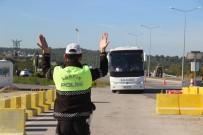 EMNIYET KEMERI - Çanakkale'de 16 Farklı Noktada 'Türkiye Trafik Güvenliği-7' Uygulaması