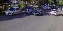 AŞIK VEYSEL - Çorlu'da Otomobilin Öğrenciye Çarptığı Kazanın Güvenlik Kamera Kayıtları Ortaya Çıktı