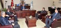 DEMİRYOLU PROJESİ - DDY Lojistik Müdürlerinden ETSO'ya 'BTK' Ziyareti