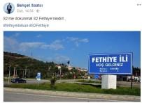 MUSUL - Fethiye Belediye Başkanı Behçet Saatcı; '82 Fethiye'nindir'