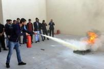 YANGIN TATBİKATI - GSOMEM'de İşletmeler İçin Genel Yangın Eğitimleri Başladı