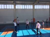VOLEYBOL TAKIMI - Hisarcık'ta Liseler Arası Voleybol Turnuvası