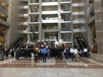 26 EYLÜL - İstanbul Adalet Sarayı'nda Zabıt Katiplerin İkinci Klavye Sınavı Yoğunluk Oluşturdu