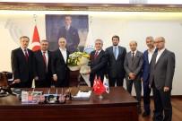 KAĞITHANE BELEDİYESİ - Kağıthane İlçe Müftülüğünden Başkan Kılıç'a Anlamlı Ziyaret