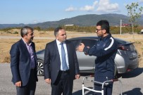KENAN SOFUOĞLU - Kenan Sofuoğlu Kazadan Sonra Aya Kalktı İlk İşi Pisti İnceledi