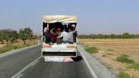 Kilis'te Tehlikeli Yolculuklar Kamerada