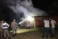 Samanlık Yangını İtfaiye Ekiplerini Alarma Geçirdi