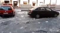 POLİS MERKEZİ - Suriye'de İntihar Saldırısı