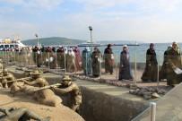 ŞEHİTLER ABİDESİ - Tokatlı Kadınlar İlk Gezilerini Çanakkale'ye Yaptı