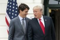 TİCARET ANLAŞMASI - Trump, Kanada Başbakanı Trudeau İle Bir Araya Geldi