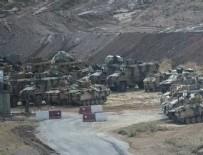 MUHALİFLER - TSK, İdlib çatışmasızlık bölgesine intikal için keşif yaptı.