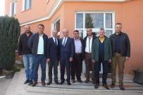 ÇEKIM - TSO Başkanı Ekicioğlu, OSB Başkanı Süleyman Eraslan'ı Ziyaret Etti