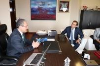 MUHAMMET GÜVEN - TÜSİAD Heyetinden ERÜ Rektörü Güven'e Ziyaret