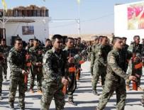 ASKERİ EĞİTİM - Üniformalı teröristlerin töreninde Öcalan fotoğrafları